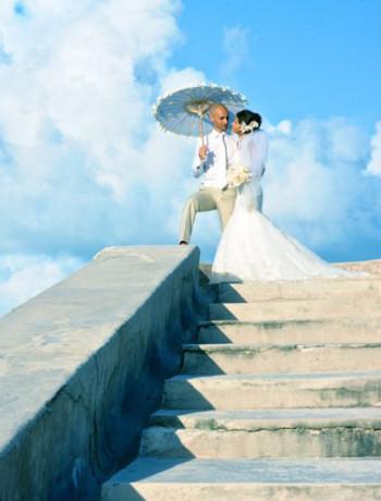 Azadeh & Mahboud   Bahamas Wedding Photography
