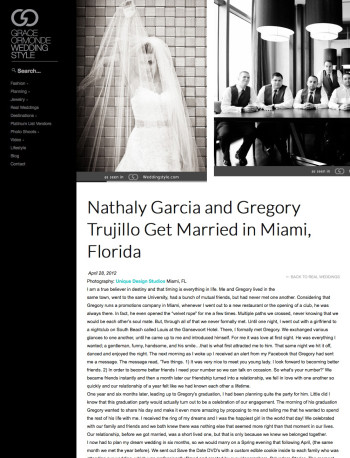 Nathaly Garcia and Gregory Trujillo | Grace Ormonde Wedding Style