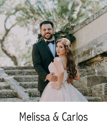 Melissa & Carlos | Wedding Photography | Vizcaya Museum & Garden